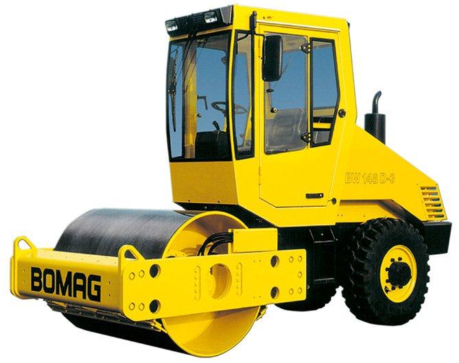 Bomag BW 145 D-3 (4.990 kg)
