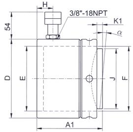 CGR 110-900T 50 mm
