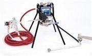 Lavtryk Airspray udstyr