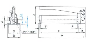PS stål 400-1000 bar